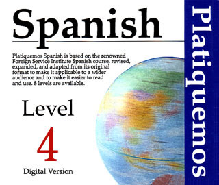 Product picture Spanish Platiquemos Level 4