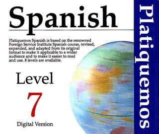Product picture Spanish Platiquemos Level 7